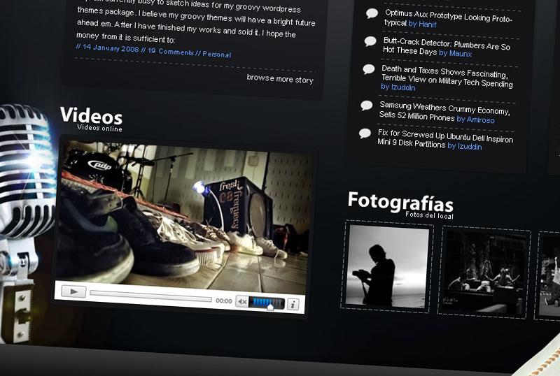 Sitio web Entre Cantos