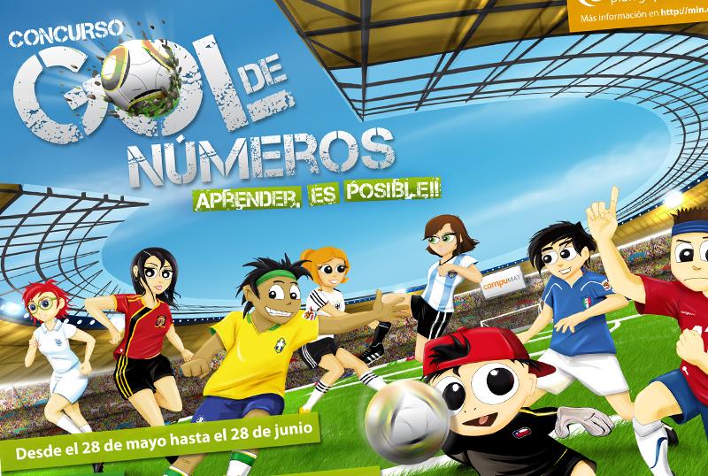 Afiche Gol De Números