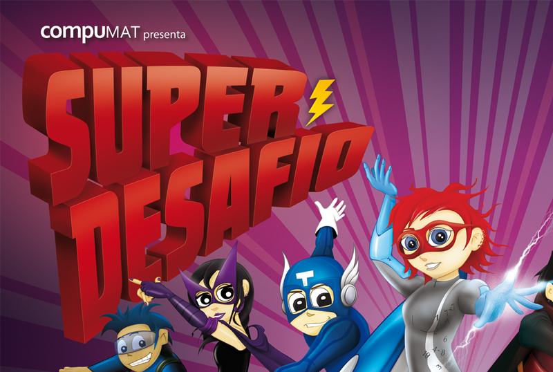 Afiche concurso Super Desafío