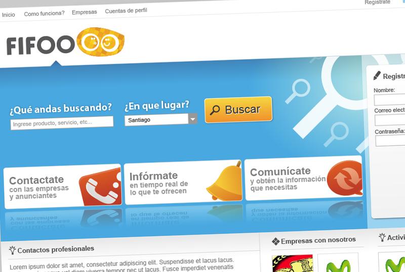 Sitio web Fifoo
