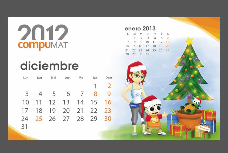 Calendario Compumat 2012