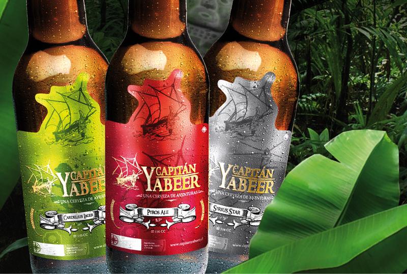 Etiqueta Cerveza Capitán Yabeer