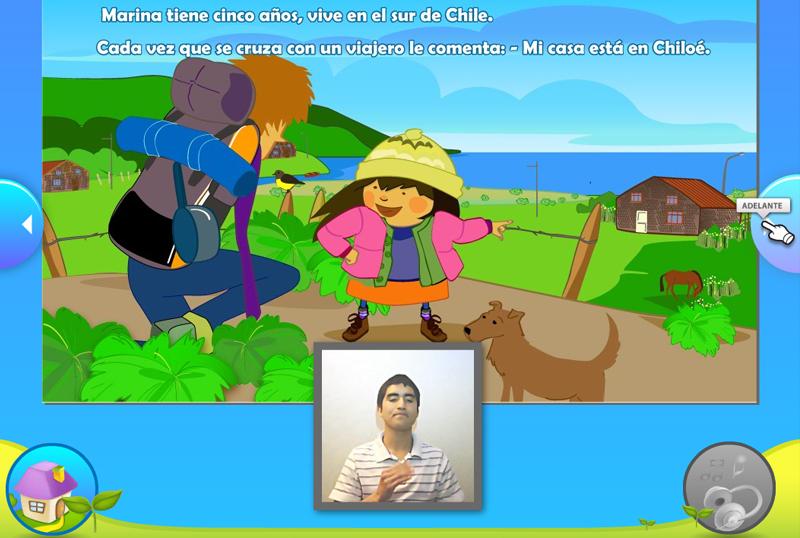 Multimedia Recorrecuentos – Cuentos ilustrados para niños