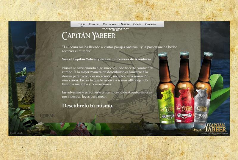 Sitio web Capitán Yabeer